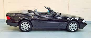 convertible mercedes black mercedes sl320 convertible 1998r u2013 15 000 miles u2013 obsidian black