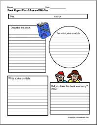 fiction book report template book reports page 1 abcteach