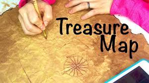 Real Treasure Maps How To Make A Pirate Treasure Map Youtube