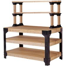 2x4 basics workbench and shelving storage system black walmart com