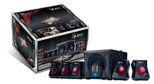 amazon com theater solutions ts509 genius gx gaming 5 1 surround sound 80 watts gaming speaker system