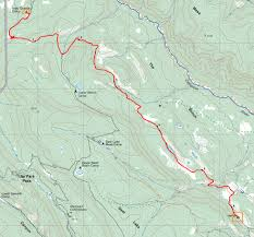 Philmont Scout Ranch Map Philmont Itinerary 2 Day 3