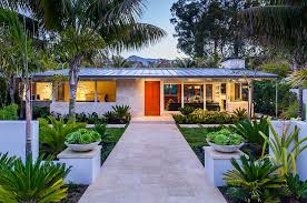 butterfly beach villa 50s ranch style home goes midcentury modern