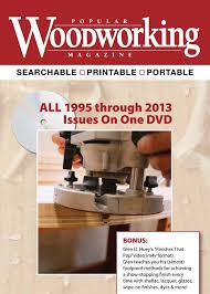 popular woodworking magazine 1995 2013 dvd shopwoodworking