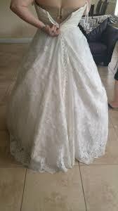 change dress to corset back weddingbee