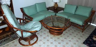 Retro Living Room by 1960s Vintage Bamboo U0026 Vinyl Retro Living Room Furniture Set For