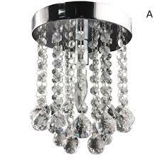 Flush Mount Mini Chandelier Modern Crystal Chandelier Lamps Crystal Pendant Lighting Homelava
