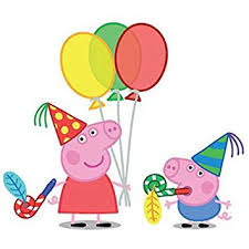 peppa pig party party propz peppa pig cardstock cutout set of 10 in