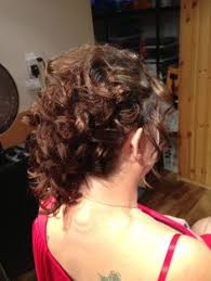 barrel curl ponytaol ponytail barrel curl and looped updo by tiffany s hair creations