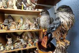 meet the with 20 000 bird ornaments that fill his house