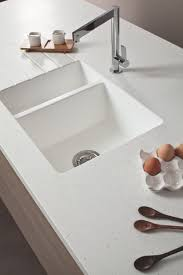 Solid Surface Sinks Kitchen Kitchen Seamless Benchtop Moulded Sink Solid Surface Range
