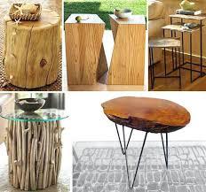 side table wood stump side tables coffee wood stump side tables