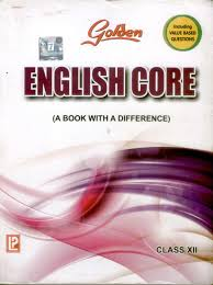 golden english core a book with a difference class 12 price in