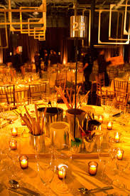 centerpieces at the museum of american gala held in