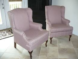 Wing Chair Slipcover Pattern Wing Chair Slipcover Pattern U2014 Jen U0026 Joes Design Wing Chair