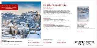 Volksbank Rastatt Baden Baden Stuttgarter Zeitung Leserreisen Genießertour Salzburg Im Advent