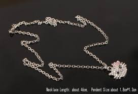 crystal rhinestone necklace images Hello kitty crystal rhinestone necklace hellokitty101 jpg