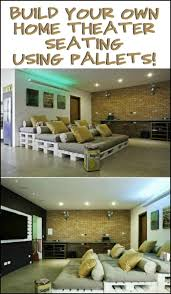 home movie theater seats best 25 pallet movie theaters ideas on pinterest pallet