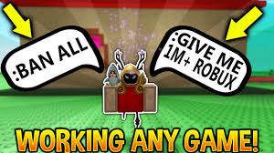 how to get admin in any roblox game working youtube