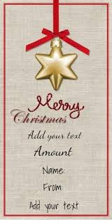 customized gift cards 52 best christmas gift certificates images on free