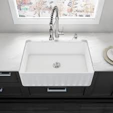 vigo 33 x 18 farmhouse kitchen sink reviews wayfair
