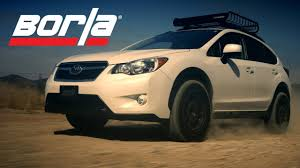 subaru crosstrek custom wheels borla exhaust for 2013 2017 subaru xv crosstrek youtube