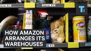 inside out black friday amazon how amazon arranges its warehouses youtube