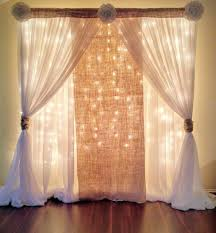prom backdrops simple backdrop burlap lace sheer not sure about flowers on
