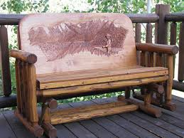 Horn Mountain Living Western Home Furnishings Hand Crafted Wood - Patio furniture made in usa