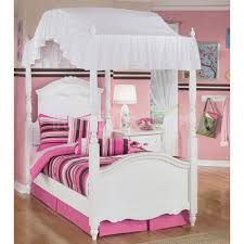 catchy twin size canopy bed with white metal twin size canopy bed