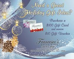 gift card specials gift cards francesco s salon and spa mentor ohio