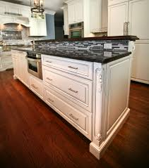 Kitchen Island Corbels Classic Custom Cabinets Rumson New Jersey By Design Line Kitchens