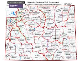map of thermopolis wyoming wyoming and fish department warden contact info