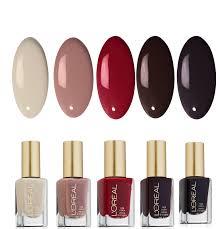 l u0027oréal paris dark color nail polish u2013 5 pack