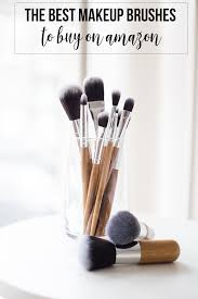 best makeup brushes to buy on amazon hairspray and highheels