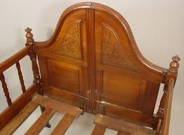 igavel auctions victorian mahogany folding crib or youth bed