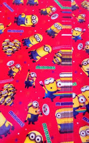 minion gift wrap buy 10 pcs minion gift wrap paper sheets 50x70 cms for birthday