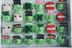 minecraft cupcakes minecraft cupcakes crumbs and tea
