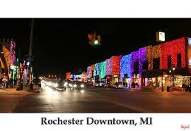 Rochester Michigan Christmas Lights by Michigan Light Festival 3 A Photo From Michigan Midwest Trekearth