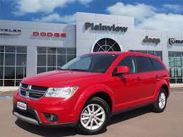 frontier dodge used cars pre owned 2017 dodge journey sxt suv in lubbock p6844 frontier