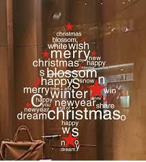 aliexpress com buy white christmas tree snowflake window