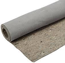 amazon com duo lock reversible felt and rubber non slip rug pad