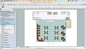café floor plan design software professional building drawing