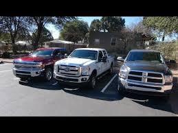 dodge ram vs f250 2015 chevy silverado 2500 vs ram 2500 vs ford f 250 diesel towing