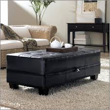 Big Chairs With Ottoman by Coffee Table Furniture Brown Leather Ottoman Coffee Table Design