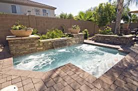 Small Backyard Swimming Pool Designs Small Backyard Inground Pool Design Backyard Design Ideas