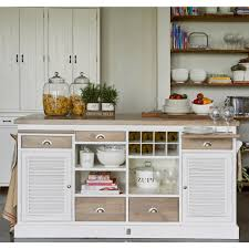 riviera maison long key kitchen island cabinet houseology