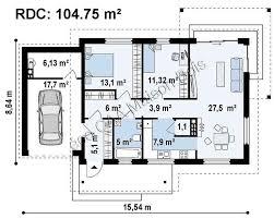 plan maison plain pied 3 chambres 100m2 plan maison 100m2 plein pied 3 chambres plan de maison maroc with