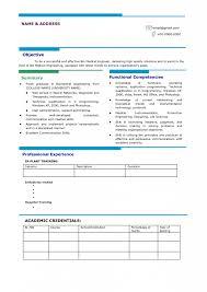 Resume Samples For Freshers by Impressive Resume Format 25 Latest Sample Cv For Freshers Best