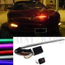 Led Strobe Light Strips by 7 Color 48 Led Rgb Scanner Flash Car Strobe Knight Rider Kit Light